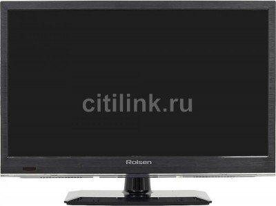"Телевизор LED ROLSEN RL-19E1308T2C ""R"", 19"", HD READY (720p), черный 1"