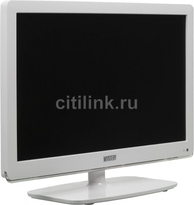 "Телевизор LED MYSTERY MTV-1918LW ""R"", 19"", HD READY (720p), белый 2 1"